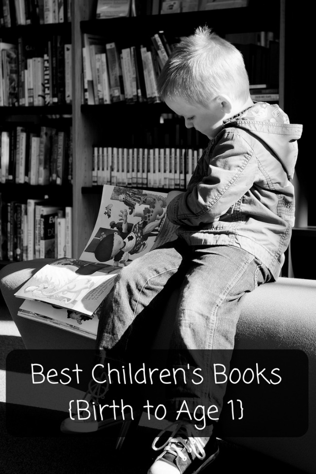 Best Children's Books {Birth to Age 1}