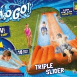 Have Fun This Summer with a H2OGO Triple Water Slide!