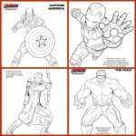 Marvel Avengers Coloring Pages for the Kids!