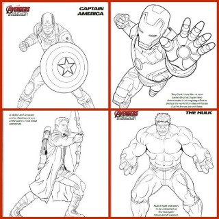 avengers coloring pages a400m - photo#18