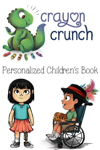 Crayon Crunch Personalized Children's Book