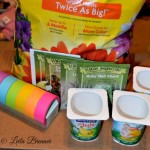 Upcycle Yogurt Containers for Starter Seeds