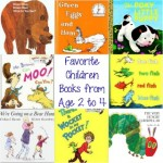 Favorite Children Books from Age 2 to 4