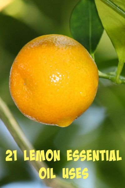 21 Lemon Essential Oil Uses