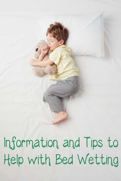 Information and Tips to Help with Bed Wetting