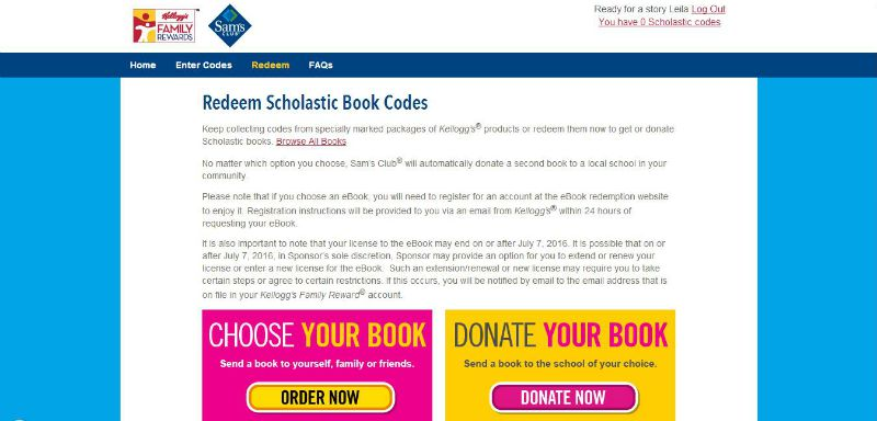 Redeem your book and donate a book #Back2SchoolStockUp #Ad #cbias