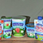 School Lunch with Stonyfield Yogurt