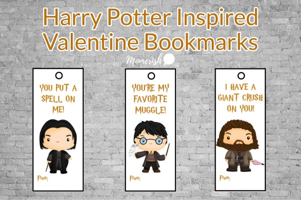 Harry Potter Valentine Printable