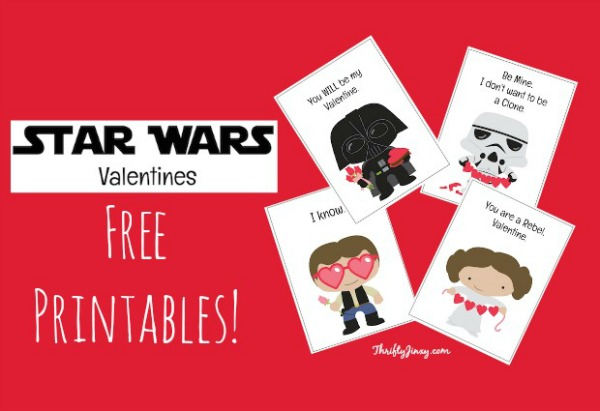 Star Wars Valentine Printable