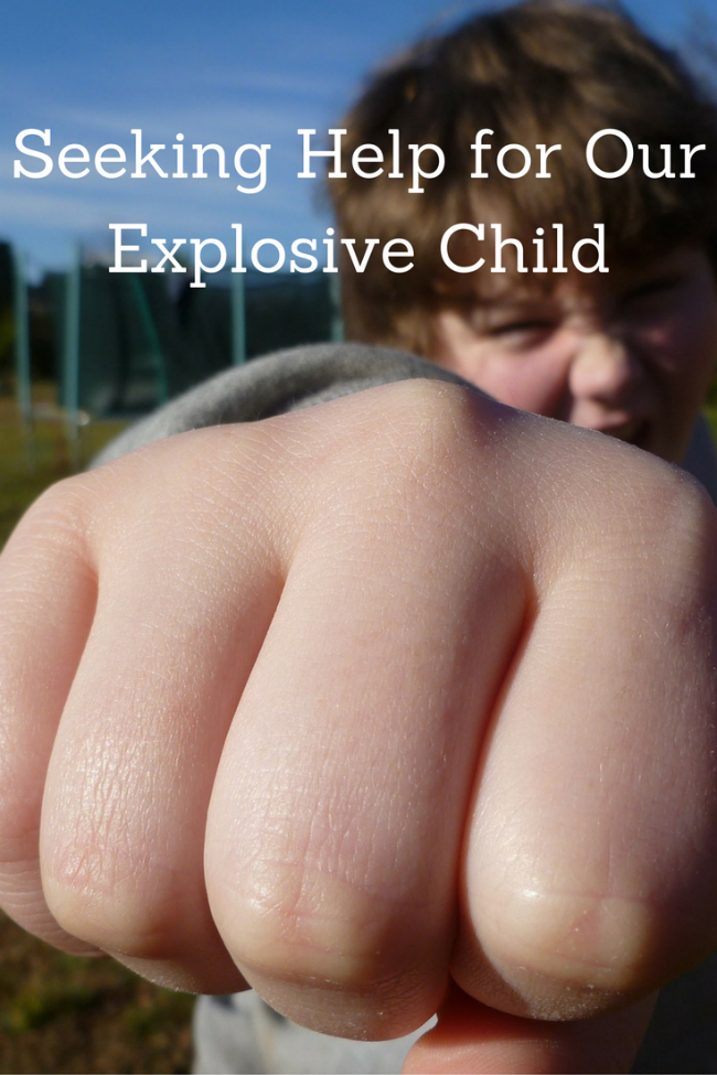 Seeking Help for Our Explosive Child