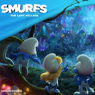 Smurfs the Lost Village and Smurf Snack Mix