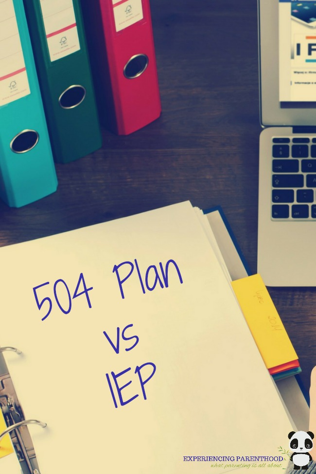 504 Plan vs IEP: What is the difference?