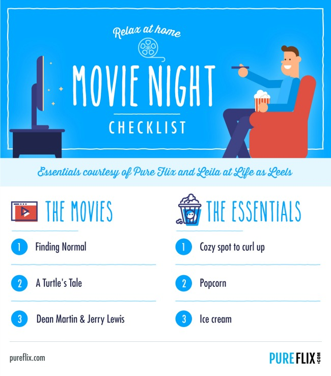 Movie Night Checklist