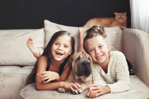 Educational and Psychological Benefits for Children with Pets..